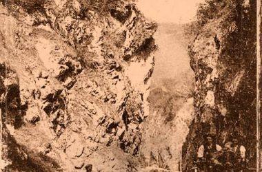 1920 Orrido versante Bracca