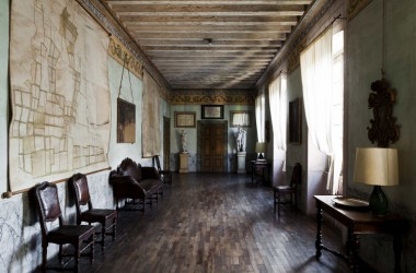 interno Castello di lurano famiglia secco Bergamo