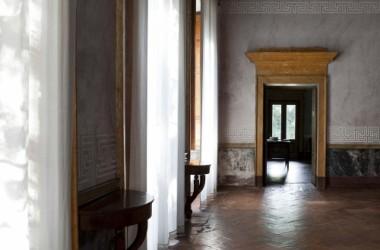 sale dipinte Castello di lurano famiglia secco Bergamo