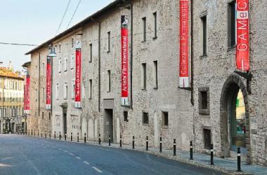 esterno Galleria d'arte GAMeC - Bergamo