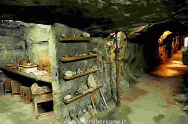 interno fattoria ariete gorno miniere bergamasche