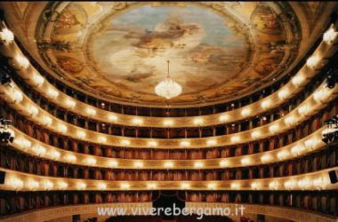 dipinti teatro Donizetti Bergamo