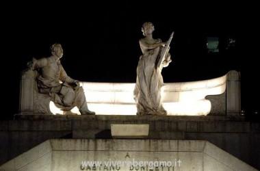 il monumento Donizetti Bergamo