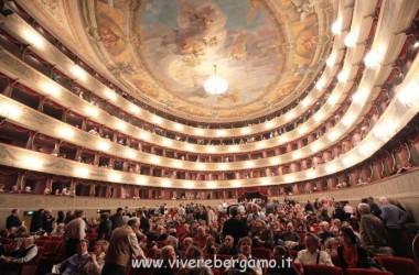 immagini teatro Donizetti Bergamo
