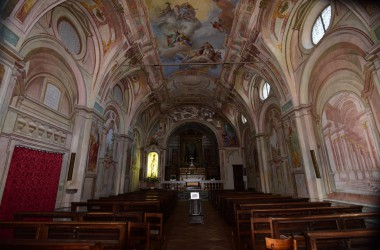 Interno Santuario San Patrizio Colzate Interno