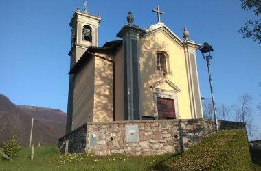 Chiesetta della B.V. della Salette in Cavaglia Val Brembilla