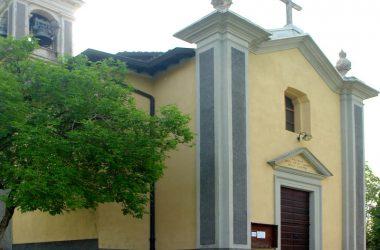 Chiesetta della B.V. della Salette in Cavaglia frazione di Val Brembilla