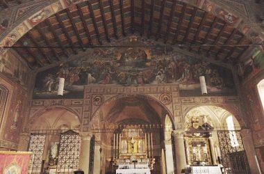 Ponte Nossa - Bergamo - santuario della Madonna delle Lacrime, detto anche di santa Maria Annunziata