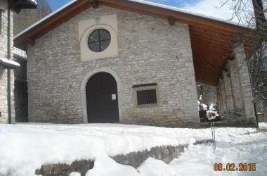 Chiesa Monte Misma Cenate Sopra Inverno