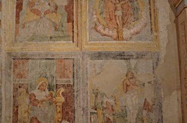 Dipinti Santuario Santissima Trinità Parre