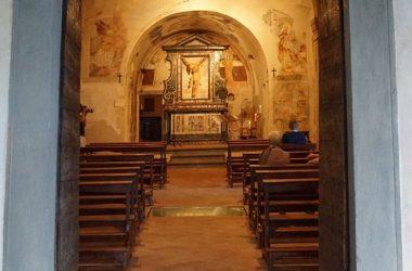 Interno Santuario Santissima Trinità Parre