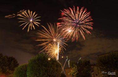 Fuochi Artificio La chiesa di San Donato - Osio Sotto