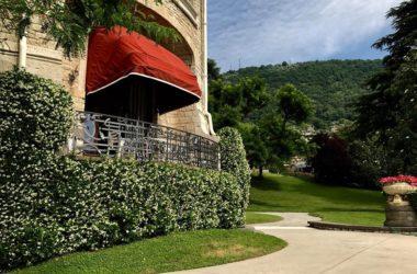 Esterno Villa Giuseppe Faccanoni a Sarnico
