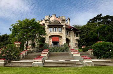 La Villa liberty 1907 nella Villa Giuseppe Faccanoni a Sarnico