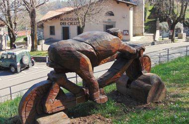 Opera in legno al Santuario del Colle Gallo - Gaverina Terme