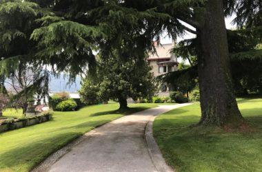Parco Villa Giuseppe Faccanoni 1907 a Sarnico