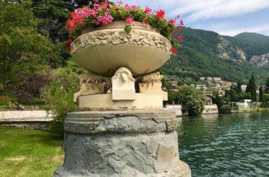 Particolari Villa Giuseppe Faccanoni a Sarnico