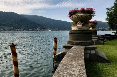 Vista Lago Villa Giuseppe Faccanoni 1907 a Sarnico