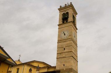 Campanile Chiesa di San Giovanni Battista - Bagnatica