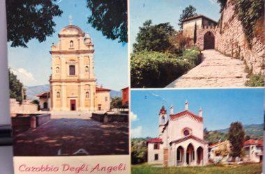 Cartoline da Carobbio degli Angeli