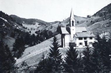 Chiesetta di Valpiana nel 1960- Gandino