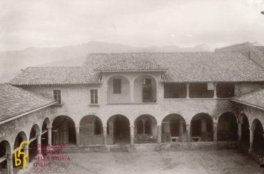 Convento di San Francesco Bergamo anno 1930