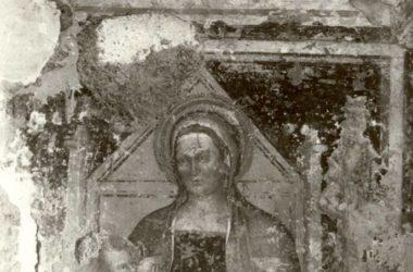 Dipinti prima del restauro Convento di San Francesco Bergamo