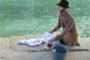 Il presepe dei lavandai alle Ghiaie - Paladina
