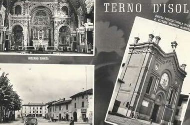 Immagini storiche Chiesa San Vittore Terno d'Isola