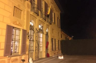 Ingresso Palazzo Colleoni - Cortenuova