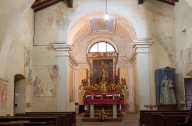 Interno Chiesa di San Pietro - Bagnatica