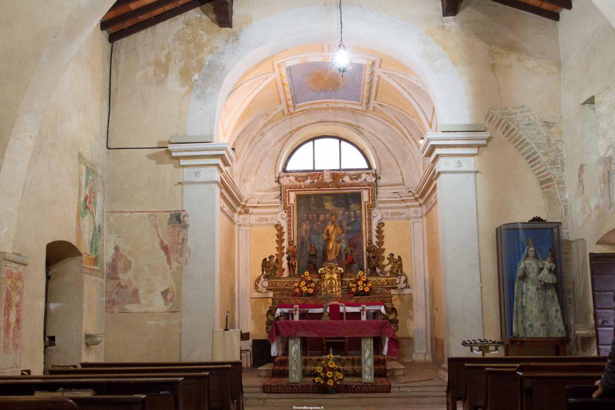 Dipinti chiesa di san pietro bagnatica for Interno san pietro