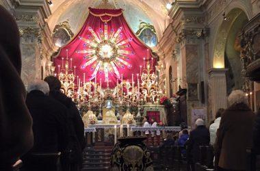 Raggiera chiesa di Cazzano Sant' Andrea