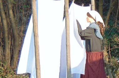 Stenditura Il presepe dei lavandai alle Ghiaie - Paladina