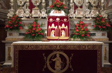 Altare Parrocchia di San Lorenzo Martire di Zogno