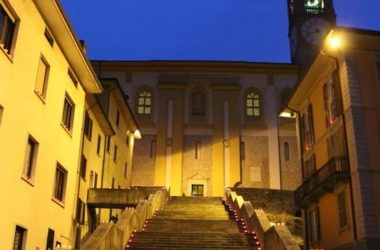 Scalinata Chiesa Parrocchiale San Lorenzo Martire - Zogno