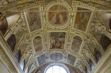 Affreschi Chiesa Santa Maria Nascente Gandellino