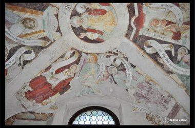Affreschi Chiesa Santa Maria Nascente Gandellino Bergamo