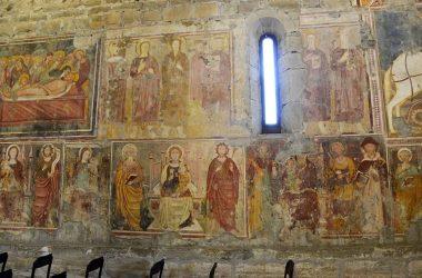 Affreschi Chiesa di San Giorgio in Lemine- Almenno San Salvatore