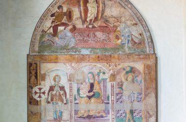 Affreschi Chiesa di San Nicola - Nembro