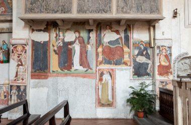Affreschi Chiesa di Santa Maria in Borgo - Nembro