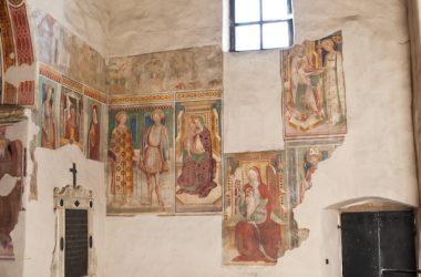 Affreschi Chiesetta di Santo Stefano - Berzo San Fermo