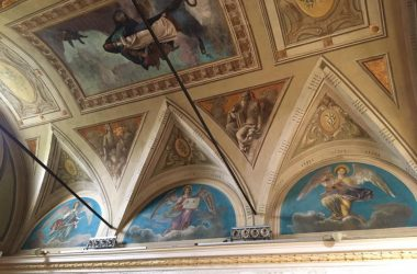 Affreschi Madonna delle Quaglie - Lurano Bergamo