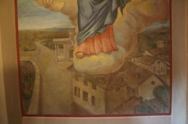 Affreschi Madonna di Fatima a Marne - Filago