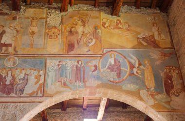 Affreschi Navata Centrale Chiesa di San Giorgio Almenno San Salvatore