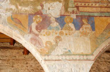 Affreschi Navata Centrale Chiesa di San Giorgio in Lemine Almenno San Salvatore