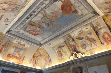 Affreschi Palazzo Furietti Carrara - Presezzo