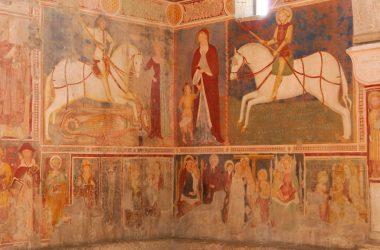 Affreschi della Chiesa di San Giorgio in Lemine Almenno San Salvatore