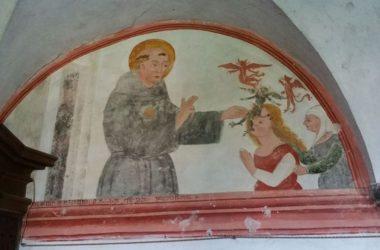 Affreschi sagrestia della Chiesa Santa Maria della Consolazione- Almenno San Salvatore Bg