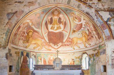 Affresco Chiesa di San Giorgio in Campis Zandobbio